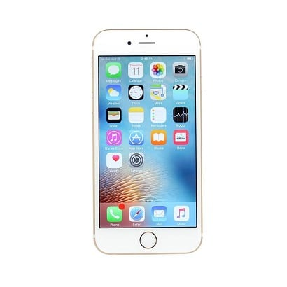 iPhone 6S Plus Gold Front Screen