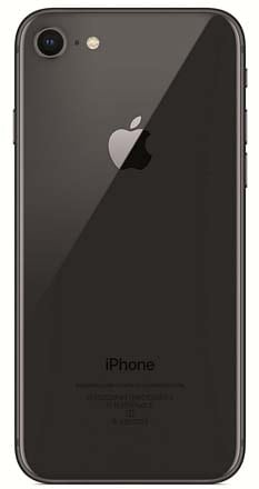 iPhone 8 Gray Back