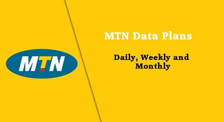 MTN images - Data plans for daily weekly and monthly