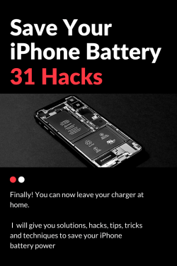 tricks to save iphone battery