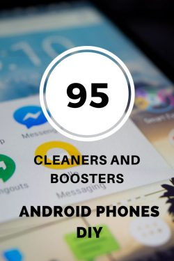 android boosters and cleaners