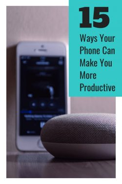 how your phone can make you more productive