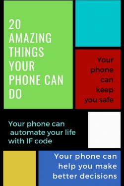 things your phone can do